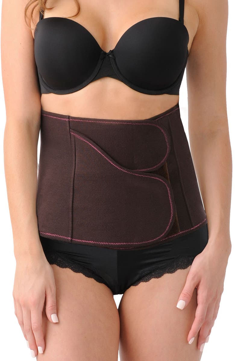 BELLY BANDIT<SUP>®</SUP> B.F.F. Premier Post-Pregnancy Belly Wrap, Main, color, CHOCOLATE BROWN