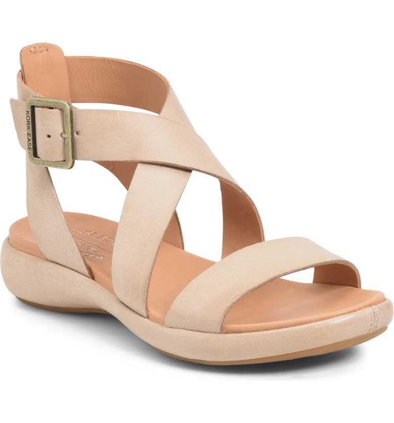 KORK-EASE<SUP>®</SUP> Erigon Sandal, Main, color, NATURAL LEATHER