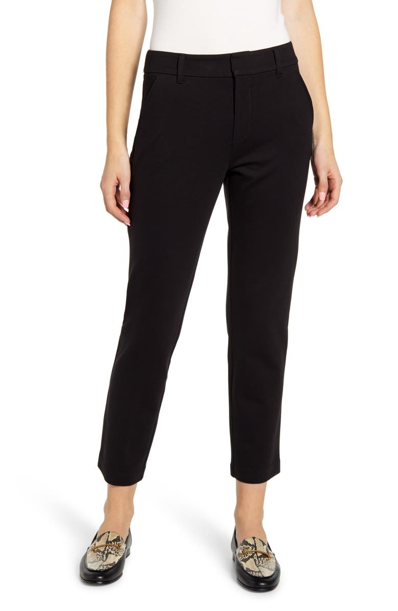 WIT & WISDOM Ab-Solution High Waist Trousers, Main, color, 001