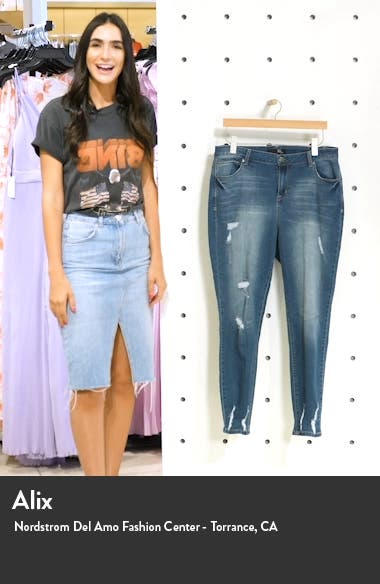 Ripped Skinny Ankle Jeans, sales video thumbnail