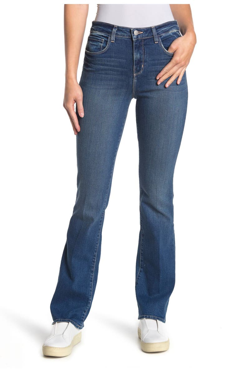 LAGENCE L'AGENCE Oriana Bootcut Jeans, Main, color, MANCHESTER