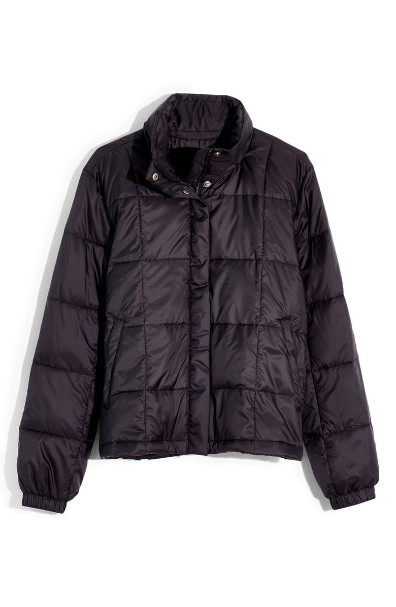 MADEWELL Travel Buddy Packable Puffer Jacket, Main, color, 001