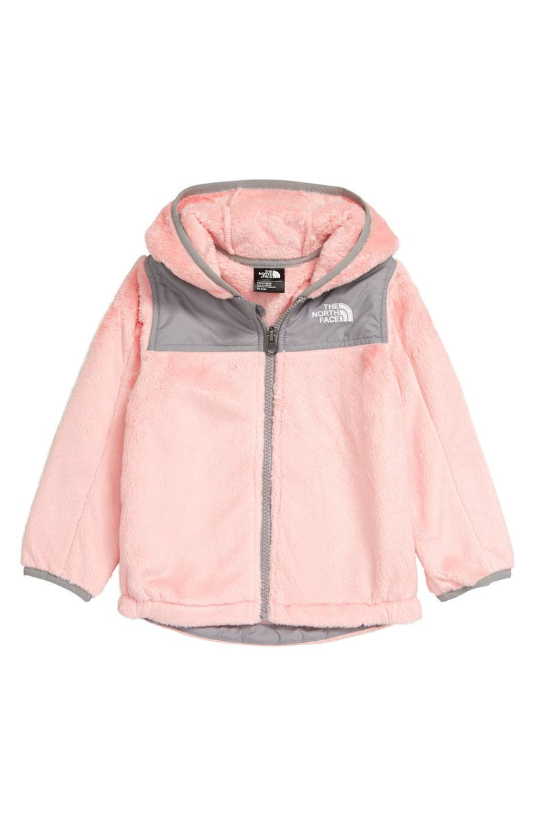 THE NORTH FACE Oso Fleece Full Zip Hoodie, Main, color, PINK SALT