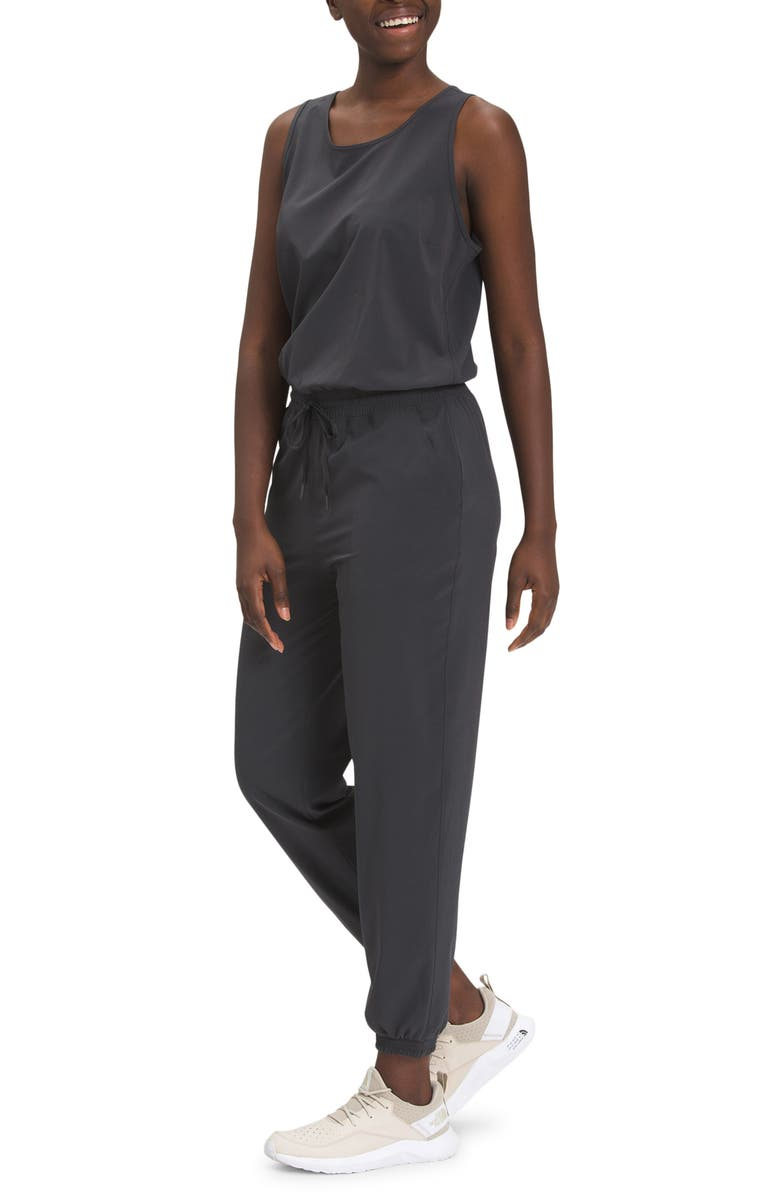 THE NORTH FACE Never Stop Wearing Jumpsuit, Main, color, CEMENT GREY