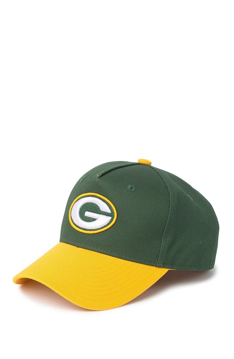NFL Green Bay Packers Snapback Hat, Main, color, 000NO COLOR