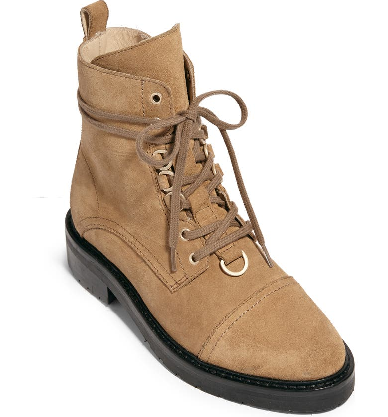 ALLSAINTS Lira Hiker Boot, Main, color, DESERT SAND SUEDE