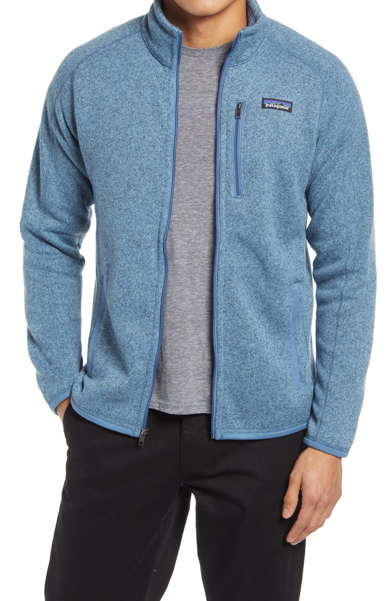 PATAGONIA Better Sweater<sup>®</sup> Zip Jacket, Main, color, PIGEON BLUE