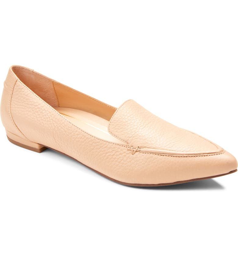 VIONIC Noah Pointy Toe Loafer, Main, color, NUDE