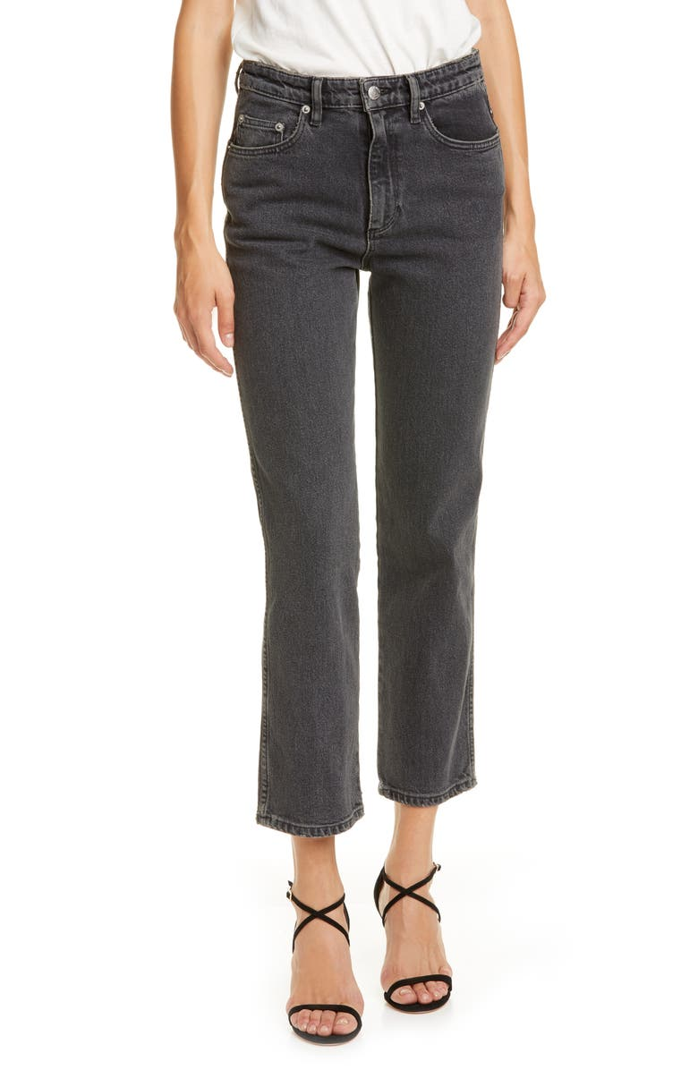 SIMON MILLER Crop Jeans, Main, color, 001