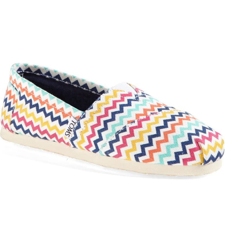 TOMS 'Classic - Jonathan Adler' Slip-On, Main, color, 700