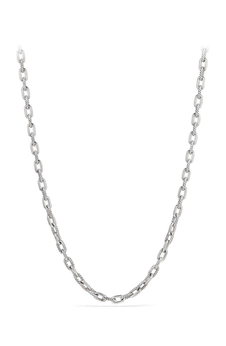 DAVID YURMAN DY Madison Extra Small Necklace, Main, color, Silver