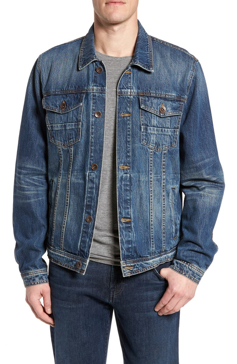 7 FOR ALL MANKIND<SUP>®</SUP> Trucker Jacket, Main, color, 400