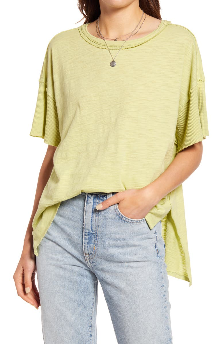 FREE PEOPLE We The Free Peace It Up Oversize T-Shirt, Main, color, MISTY PATH