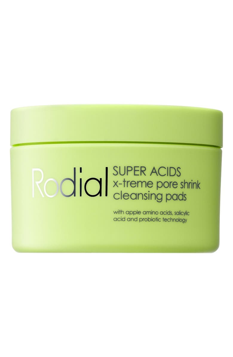 RODIAL SPACE.NK.apothecary Rodial SUPER ACIDS X-Treme Pore Shrink Cleansing Pads, Main, color, 000