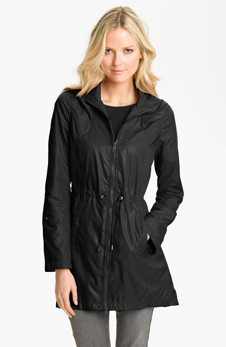 SOIA & KYO Soïa & Kyo Packable Hooded Anorak, Main, color, 001