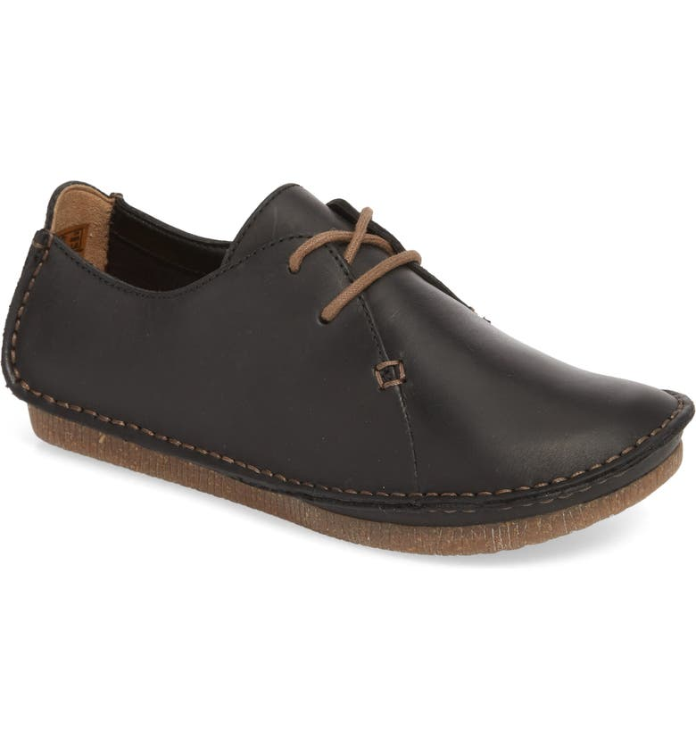 CLARKS<SUP>®</SUP> Janey Mae Derby Flat, Main, color, 003