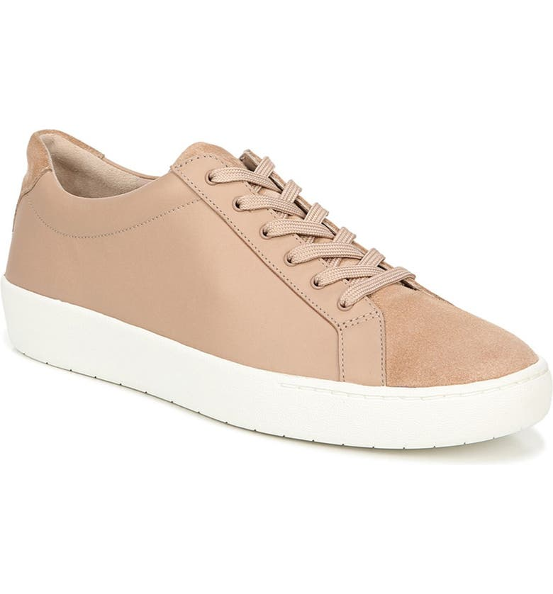 VINCE Janna Lace-Up Sneaker, Main, color, OATMEAL
