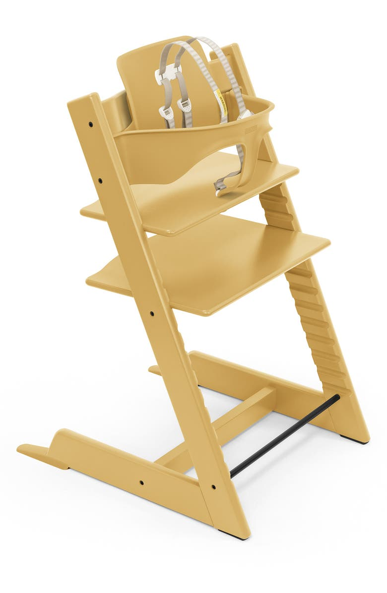 STOKKE Tripp Trapp<sup>®</sup> Highchair & Baby Set, Main, color, SUNFLOWER YELLOW