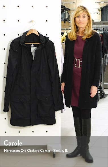 Crew Trench Jacket with Removable Hood, sales video thumbnail