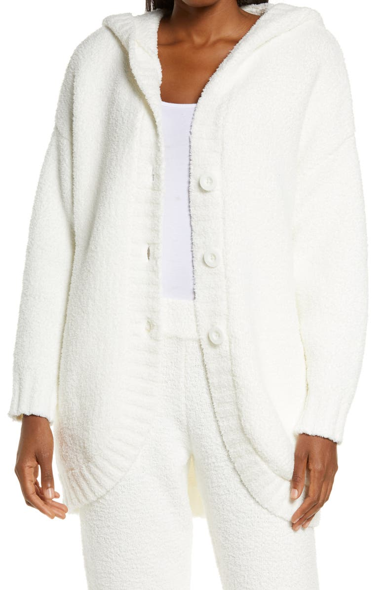 UGG<SUP>®</SUP> Franca Hooded Travel Cardigan, Main, color, CREAM