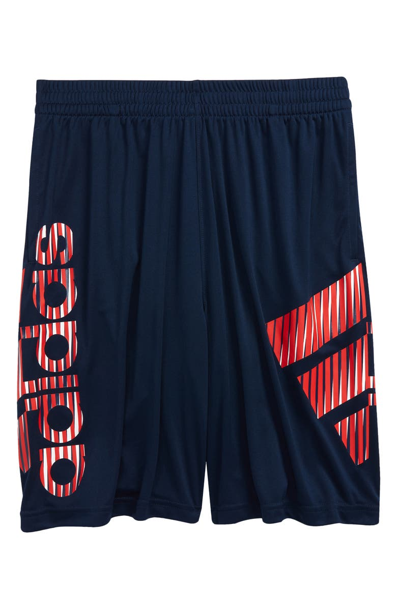 ADIDAS Kids' Y in Motion Athletic Shorts, Main, color, NAVY