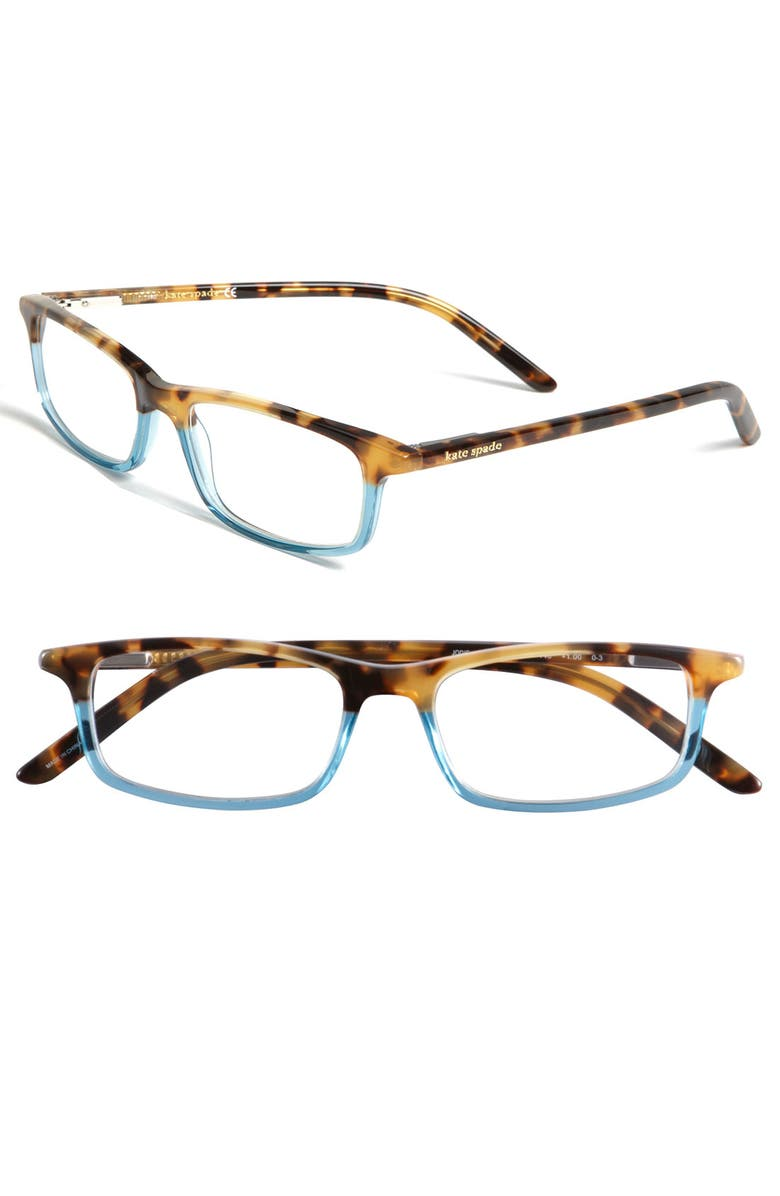 KATE SPADE NEW YORK jodie 50mm reading glasses, Main, color, 211