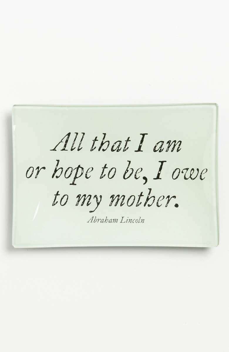 BEN'S GARDEN 'All That I Am' Trinket Tray, Main, color, 901