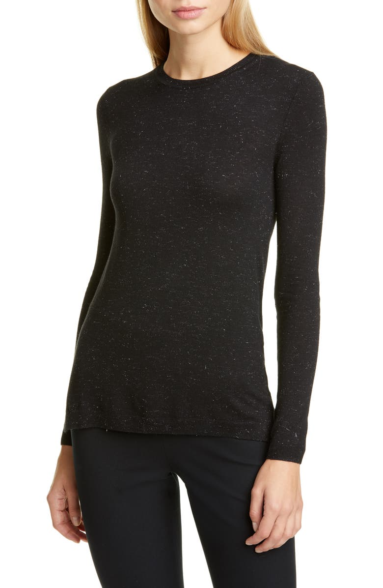 WHISTLES Annie Sparkle Sweater, Main, color, 001