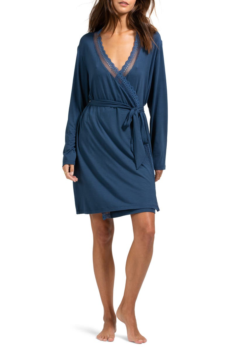 EBERJEY Lucie Wrap Robe, Main, color, 400