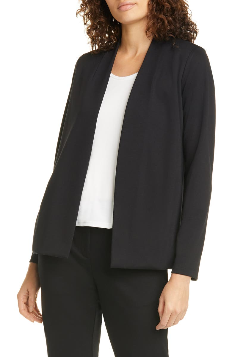 EILEEN FISHER Cardigan, Main, color, 001