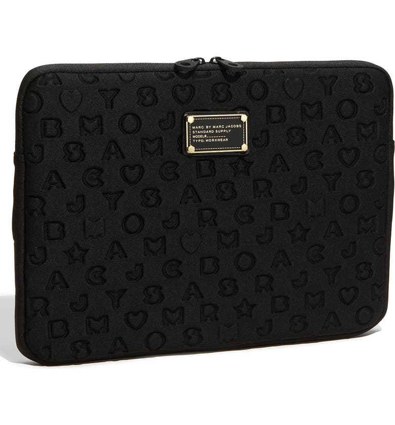 MARC JACOBS MARC BY MARC JACOBS 'Stardust' Computer Sleeve, Main, color, 001