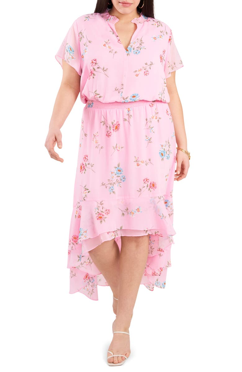1.STATE Wildflower Bouquet Dress, Main, color, PROSPECT BLOOMS