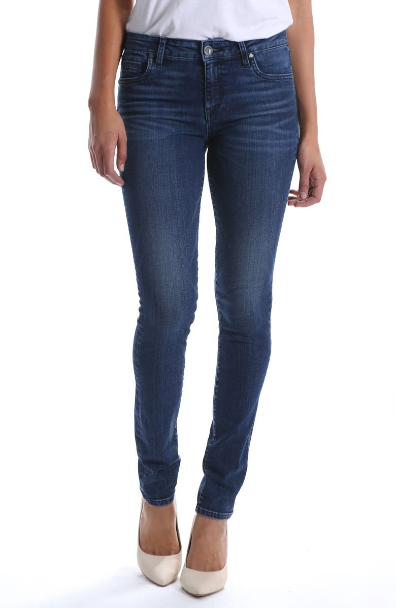 KUT FROM THE KLOTH Diana Skinny Jeans, Main, color, PREPAREDNESS