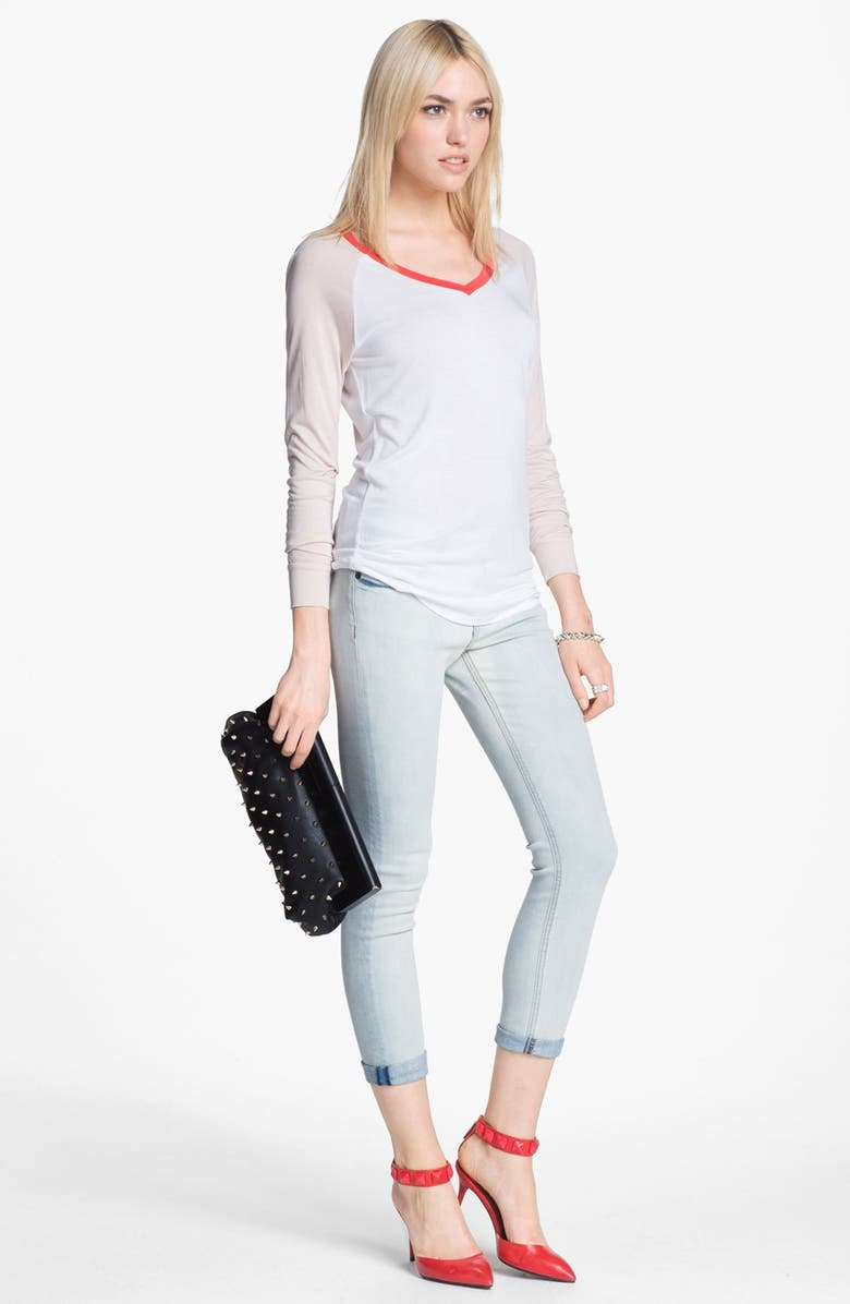 EDYSON Skinny Ankle Jeans, Main, color, 400