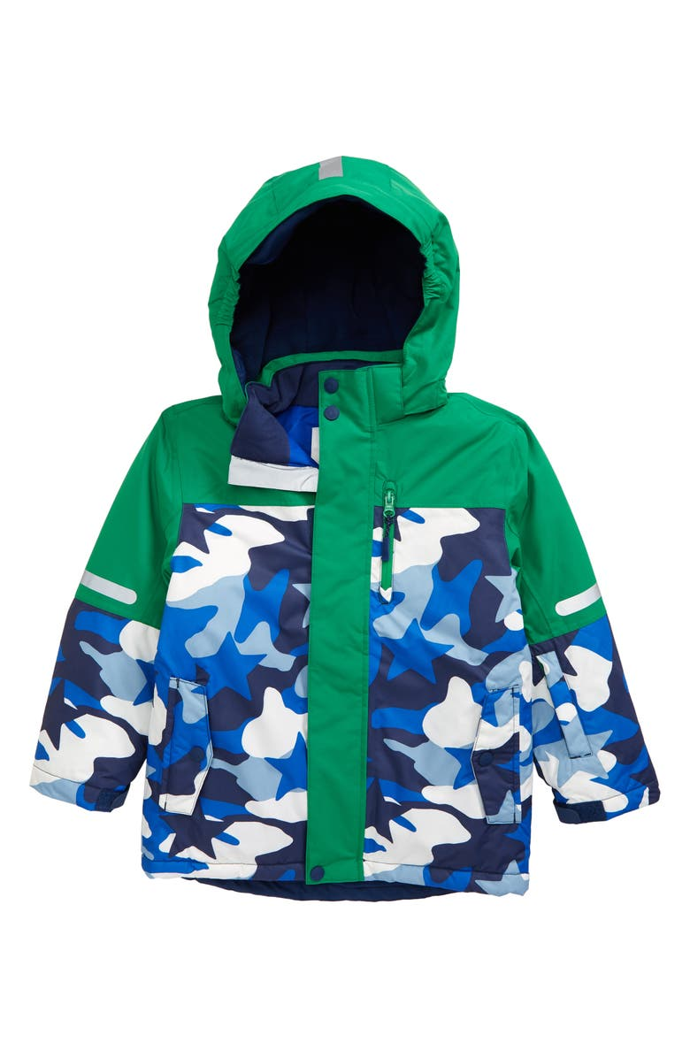 BODEN Mini Boden Kids' All Weather Waterproof Jacket, Main, color, 400