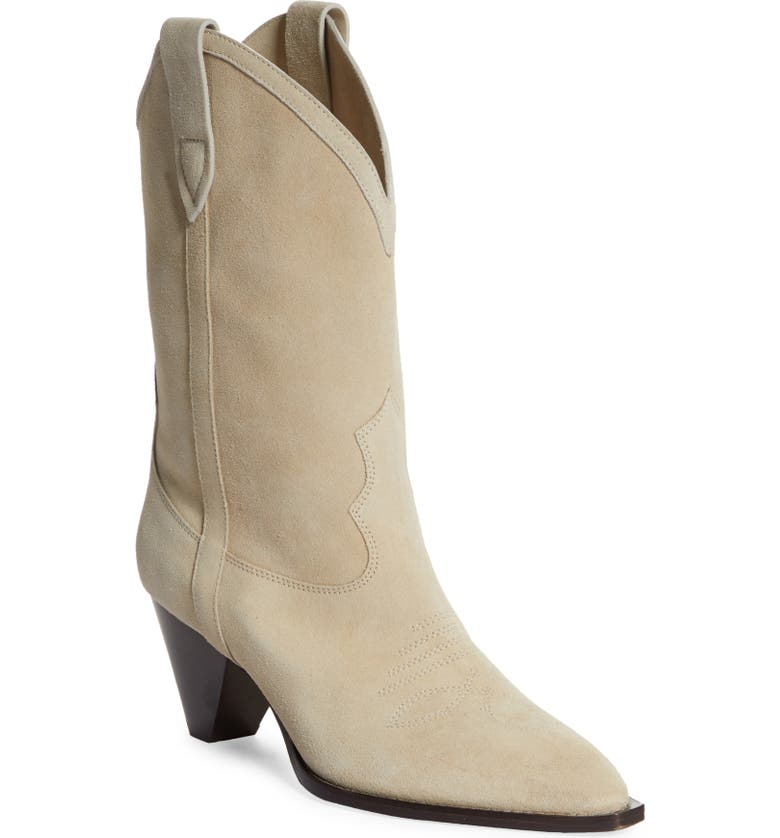 ISABEL MARANT Luliette Western Boot, Main, color, SAND