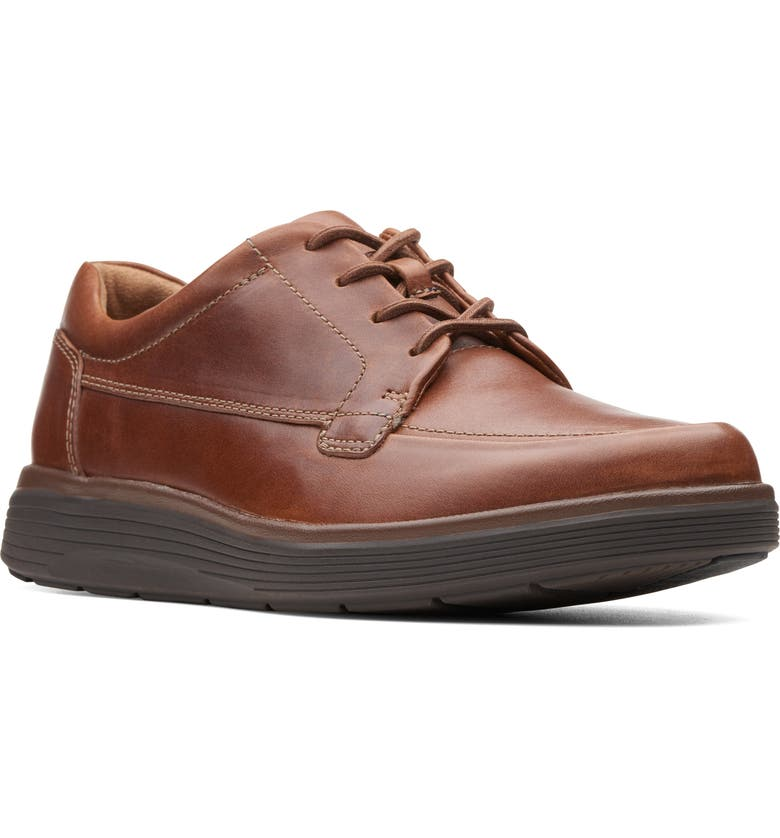 CLARKS<SUP>®</SUP> In Abode Ease Sneaker, Main, color, DARK TAN LEATHER
