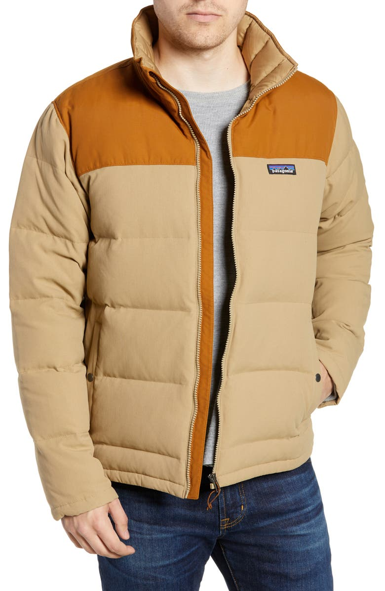 PATAGONIA Bivy Water Repellent Down Jacket, Main, color, 251