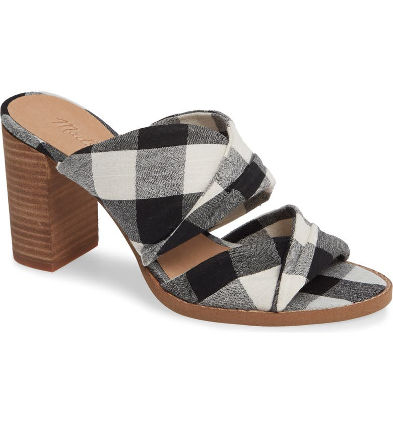 MADEWELL Gesine Open Toe Mule, Main, color, 001