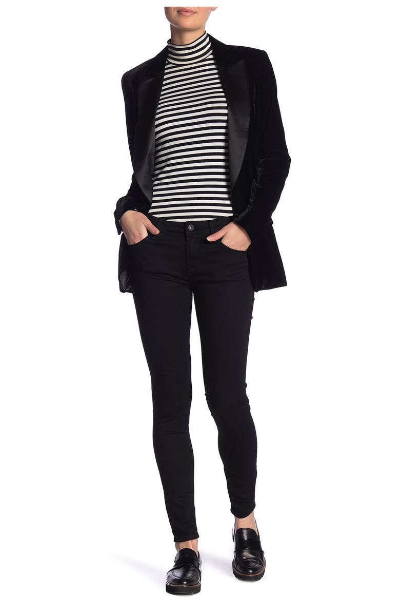 ARTICLES OF SOCIETY Sarah Skinny Jeans, Main, color, CLSSC BLK