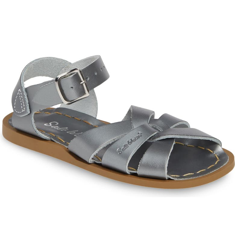 SALT WATER SANDALS BY HOY Original Sandal, Main, color, PEWTER