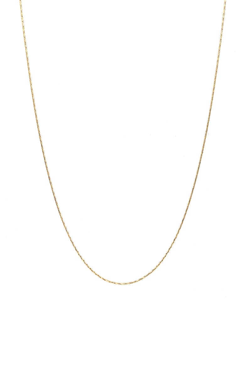 BONY LEVY BLG 14K Gold Ultra Thin Smooth Chain, Main, color, YELLOW GOLD