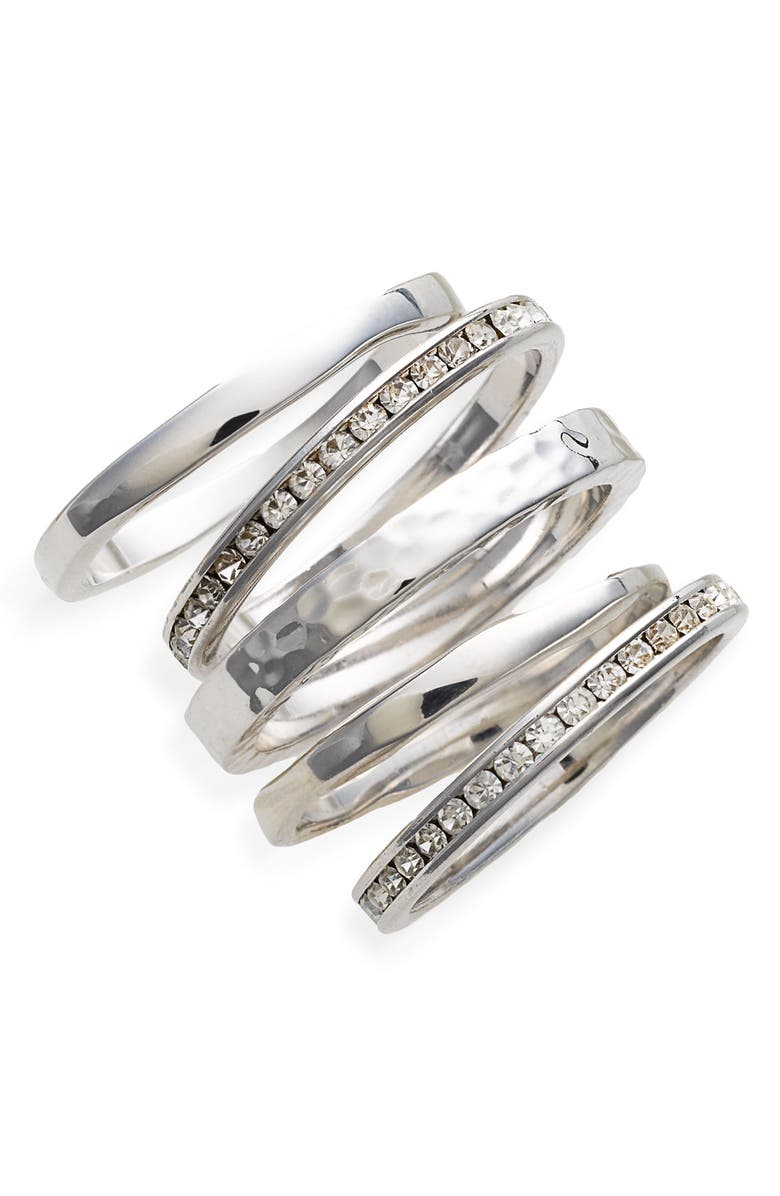 ARIELLA COLLECTION Slim Stackable Rings, Main, color, 040