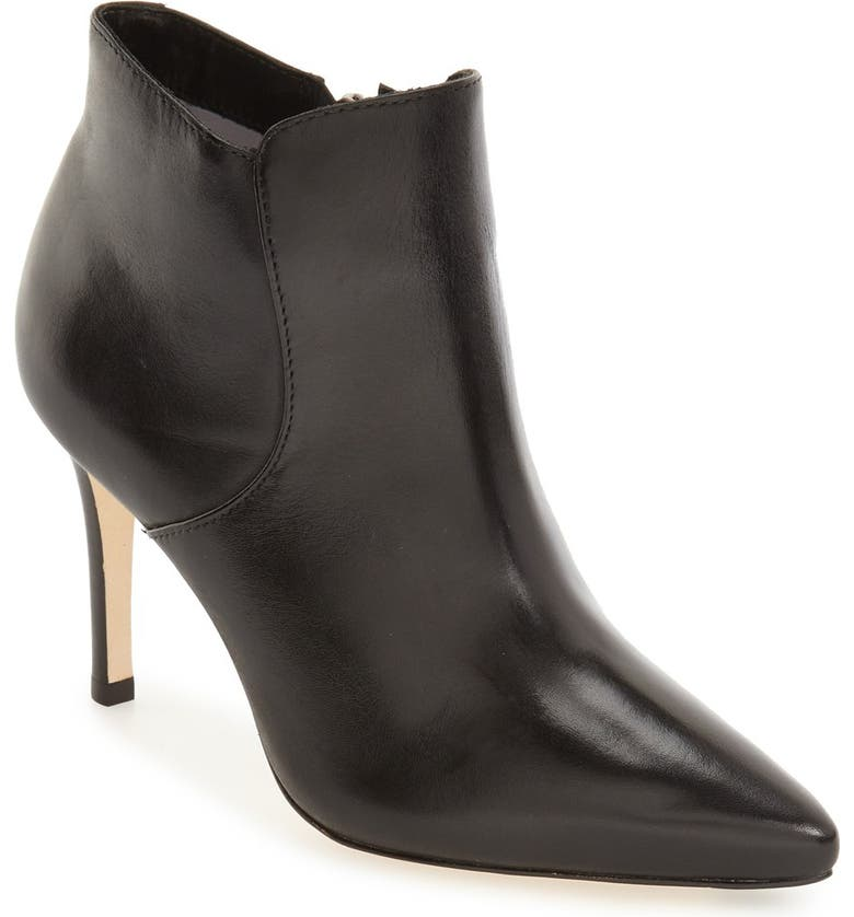 JOHNSTON & MURPHY 'Valerie' Pointy Toe Bootie, Main, color, 001