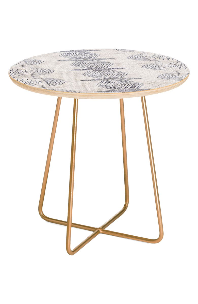 DENY DESIGNS French Eris Side Table, Main, color, 400