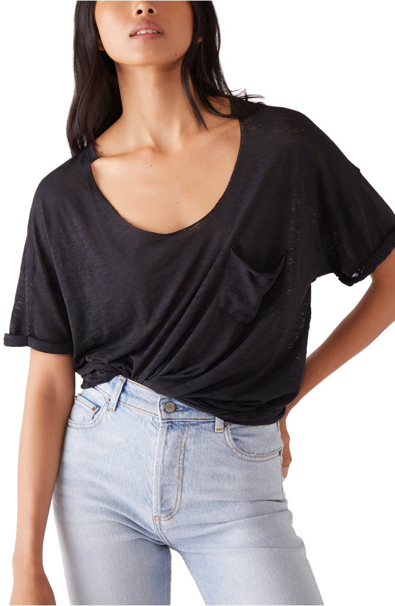 FREE PEOPLE Summer Sky T-Shirt, Main, color, 001