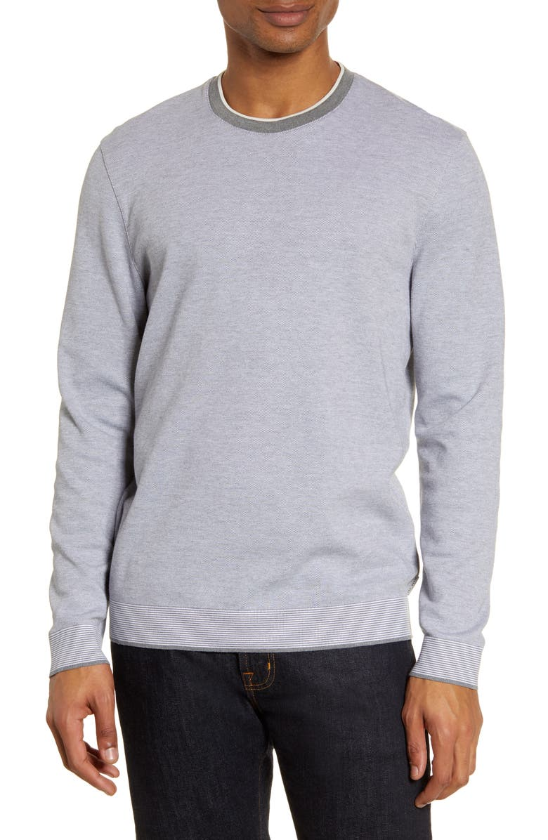 TED BAKER LONDON Carriage Slim Fit Sweater, Main, color, 031