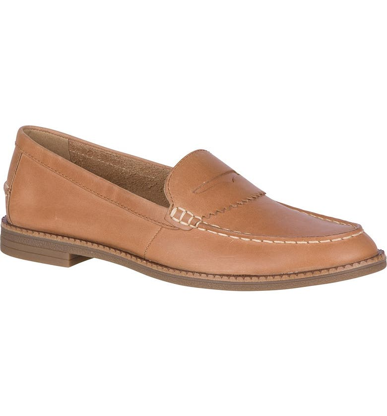 SPERRY Waypoint Penny Loafer, Main, color, LIGHT TAN