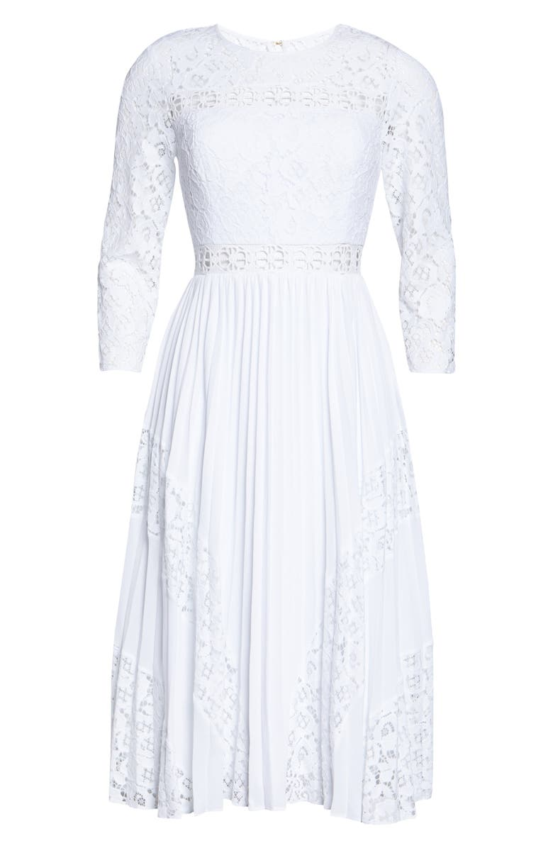 LILLY PULITZER<SUP>®</SUP> Aiden Fit & Flare Lace Dress, Main, color, 115