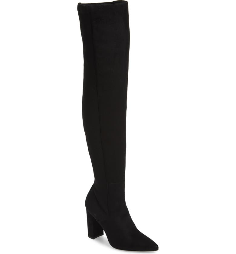 STEVE MADDEN Everly Over the Knee Boot, Main, color, Black